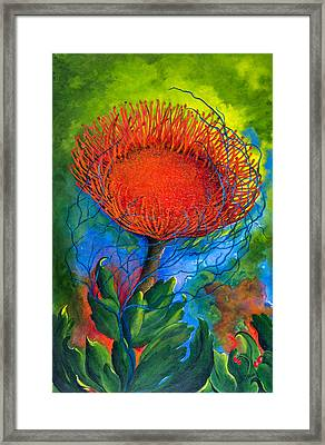 Pin Cushion Framed Print by Dawn Broom