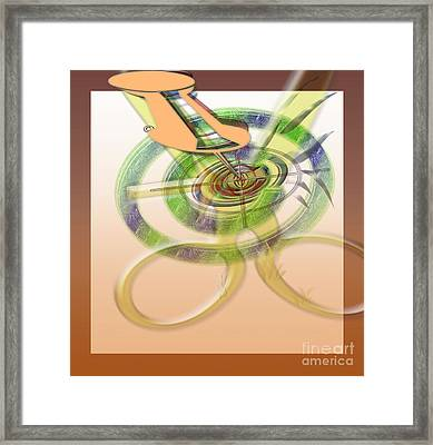 Pin Pointer Framed Print