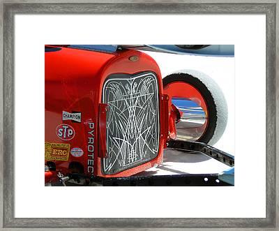 Pin Stripes Framed Print by Rick Hale