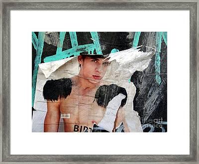 Pin Up Boy Framed Print by Ed Weidman