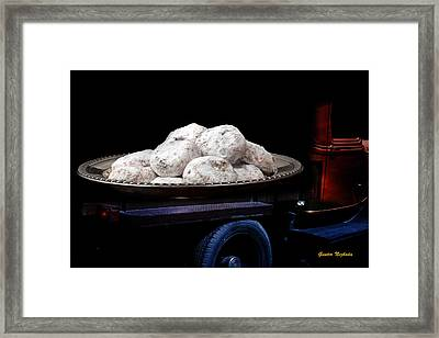 Framed Print featuring the photograph Pin Up Cars - #5 by Gunter Nezhoda