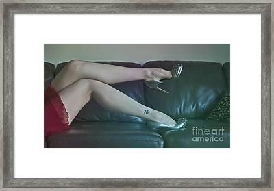 Pin-up.. Framed Print