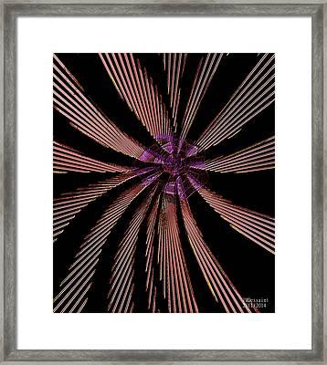 Pin Wheel  Framed Print by James Dessaint