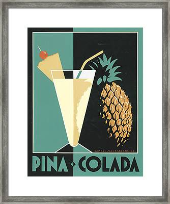 Pina Colada Framed Print by Brian James