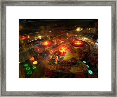 Pinball IIi Framed Print by Lanita Williams