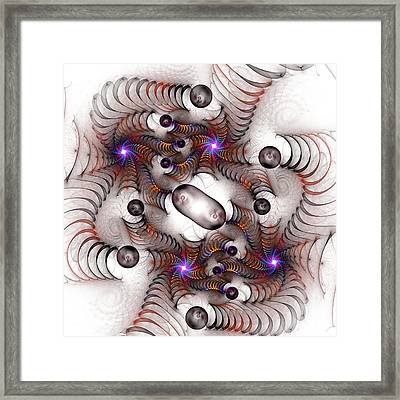 Pinball Springs Framed Print