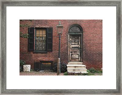 Pine Of Past Framed Print