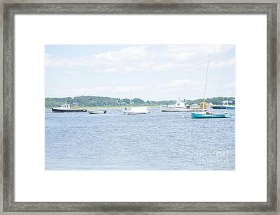 Pine Point Beach Framed Print by Victoria  Dauphinee