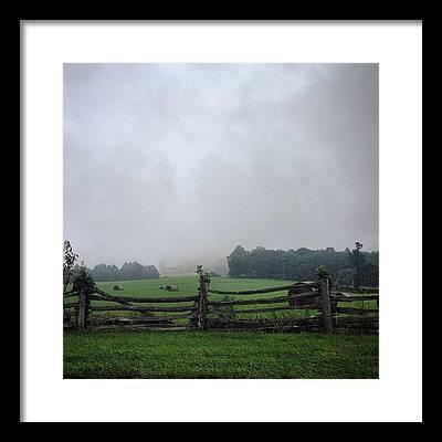 Blue Ridge Parkway Framed Prints