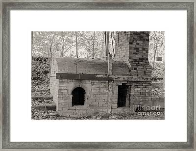 Pinewood Pottery Kiln Framed Print by Russell Christie
