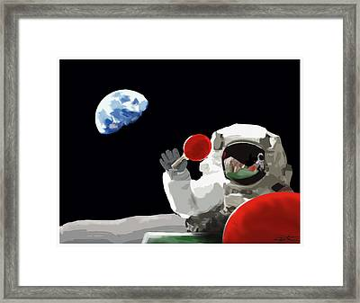 Ping Pong 1969 Framed Print by Seth Deter