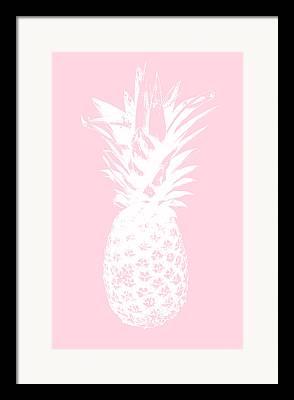 Tropical Mixed Media Framed Prints