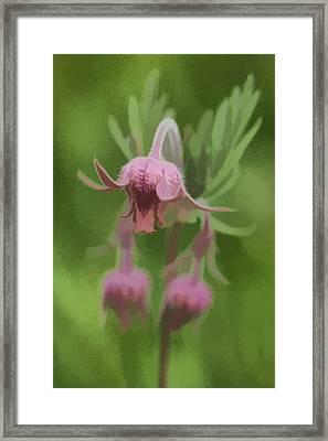 Pink Angel Framed Print