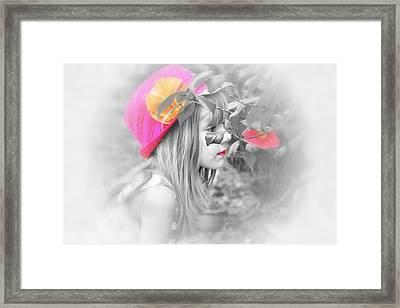 Pink Beauty Framed Print by Kelly Reber