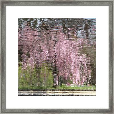 Pink Breeze Framed Print by Karin Ubeleis-Jones