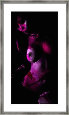 Pink Camouflage  Framed Print by Steve K