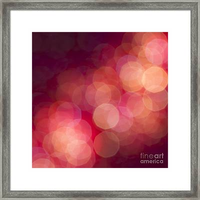 Pink Champagne Framed Print by Jan Bickerton