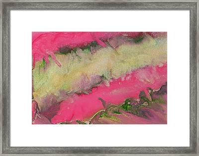 Pink Champagne Framed Print