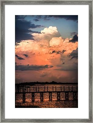 Pink Dawn Framed Print by Karen Wiles
