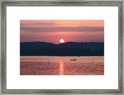 Pink Dawn Framed Print