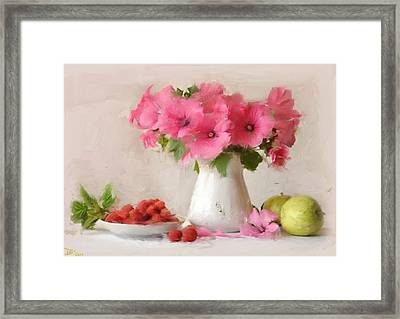 Pink  Framed Print by Dennis Wickerink