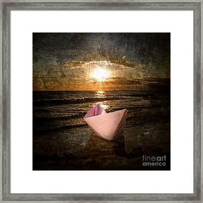 Pink Dreams Framed Print by Stelios Kleanthous
