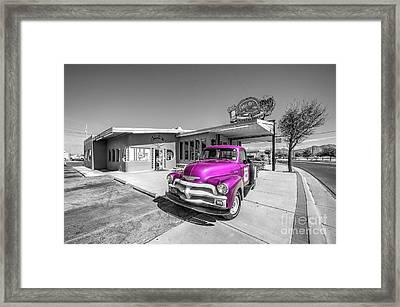 Pink D'z  Framed Print