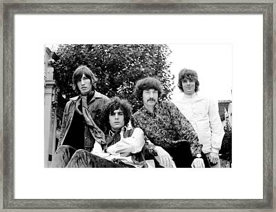 Pink Floyd 1967 Framed Print by Chris Walter