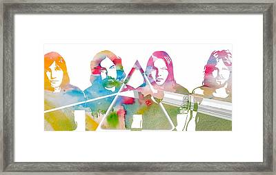 Pink Floyd Framed Print by Dan Sproul