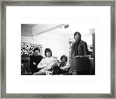 Pink Floyd 1967 Framed Print by Chris Walter