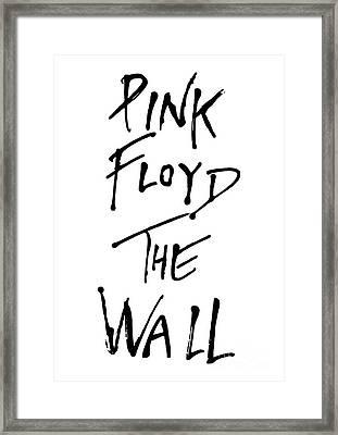 Pink Floyd No.01 Framed Print by Caio Caldas