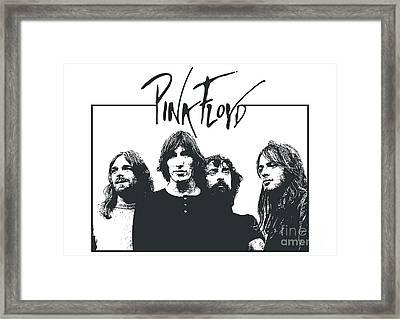 Pink Floyd No.05 Framed Print by Caio Caldas