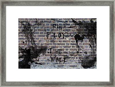 Pink Floyd The Wall Framed Print by Celestial Images