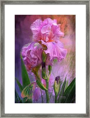 Pink Goddess Framed Print by Carol Cavalaris