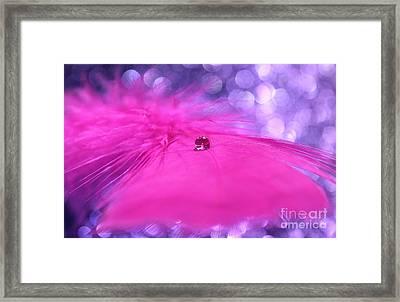 Pink Goddess Framed Print by Krissy Katsimbras