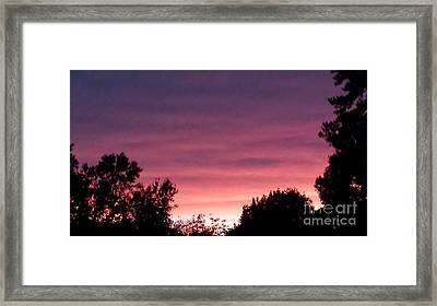 Pink Heaven Framed Print