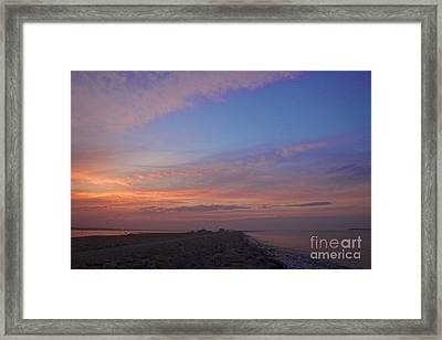 Pink Hues Framed Print by Amazing Jules
