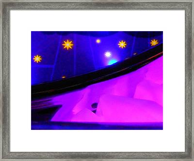 Pink In The Cosmos Framed Print by James Welch
