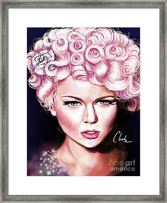 Pink Lady Framed Print by Chelsea Perez
