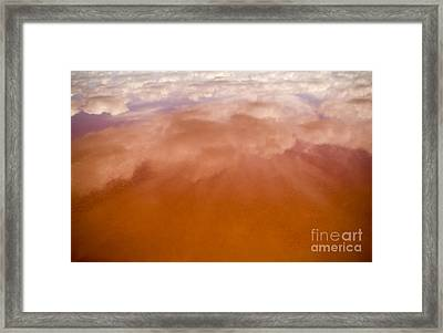 Pink Lake Framed Print by Tim Hester