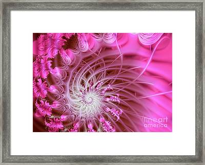 Pink Framed Print by Lena Auxier