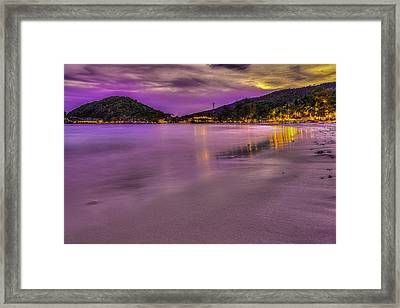 Pink Framed Print by Mario Legaspi