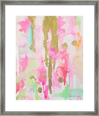 Pink N Glam Framed Print
