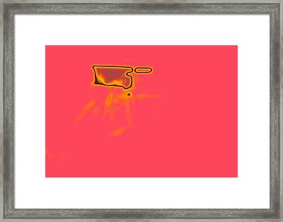 Pink N' Framed Print