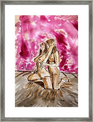 Pink Passion....... Framed Print