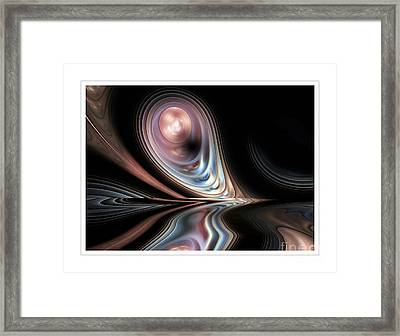 Pink Pearl Framed Print