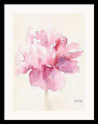 Floral Paintings Framed Prints
