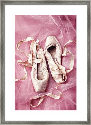 Pink Pirouette Framed Print by Amy Weiss
