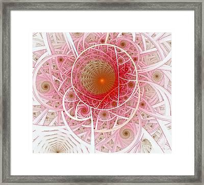Pink Punk Framed Print