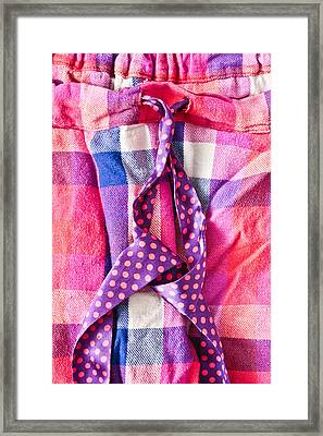 Pink Pyjamas Framed Print by Tom Gowanlock